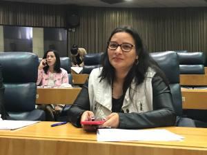 Juliana Apresenta projéto para produção cultural pela web