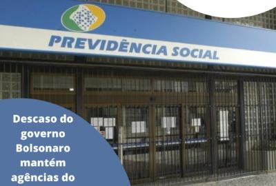 Descaso do governo Bolsonaro mantém agências do INSS fechadas em SP