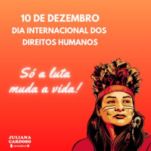 #DiaInternacionalDosDireitosHumanos
